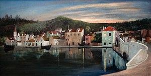 Tivadar Csontváry Kosztka - Traui at sunset