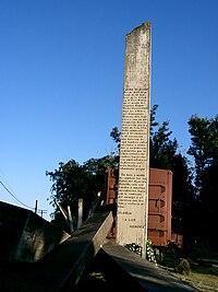 Cuba - Santa Clara - stèle du Che.JPG