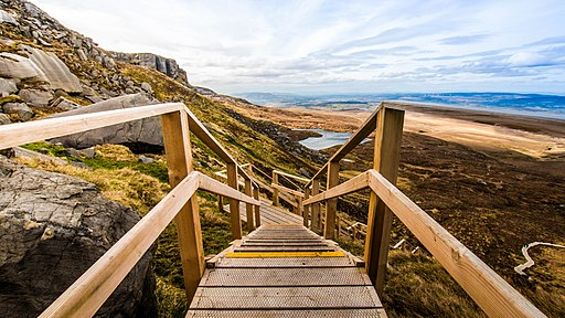 Stairway to Heaven Boardwalk - Cuilcagh, Fermanagh - 33646510792