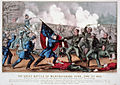 Currier & Ives - Great Battle of Murfreesboro, Tenn. - Jany, 2nd 1863.jpg