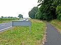 Cycle path alongside the A689 - geograph.org.uk - 207721.jpg