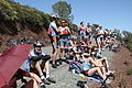 Cycling fans Mount Diablo during the 2013 Tour of California.jpg