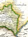 Czyżew - na mapie z 1826 roku.png