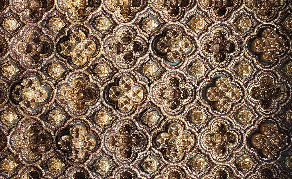 Plafond d'un Palais de Pilate de Séville - Photo de Nicolas Vollmer
