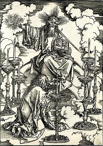 Apocalypse (Dürer) - Image: Dürer Apocalypse 2