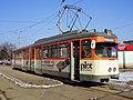 Düwag M, tram line 101, Brașov, 2006.jpg