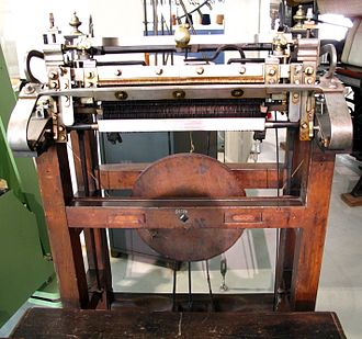 Lace machine - Stocking Frame 1820