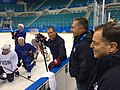 DSS at 2018 Winter Olympics in PyeongChang - US Men's Hockey Team.jpg
