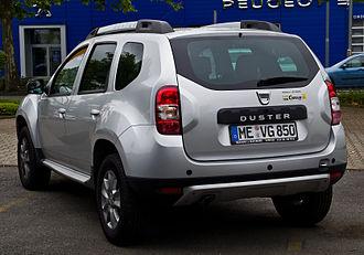 Dacia Duster - Facelift Dacia Duster (Germany)