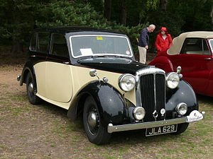 Daimler Consort - Image: Daimler DB18 5917685705 1b 5a 34140c o