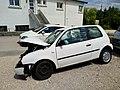 Damaged Volkswagen Lupo in Jura, France (2018) 2.jpg