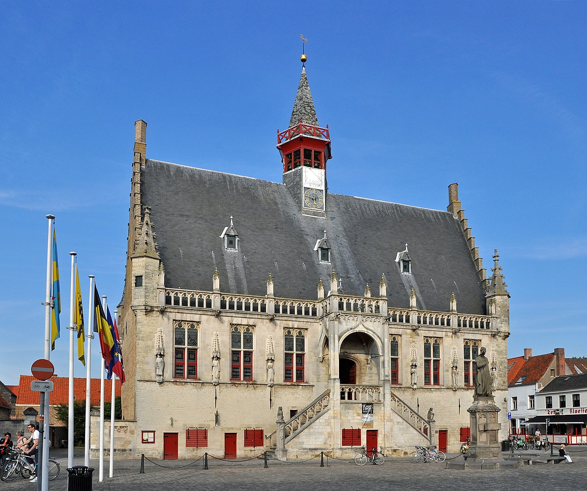 Stadhuis Van Damme Wikipedia