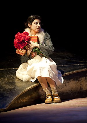 Dana Ivgy - Princess Ivon, by Witold Gombrowicz, Gesher Theater, 2011