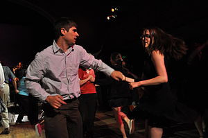 Dating - Ballroom dancing is one way to get to know somebody on a date.