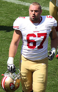 Daniel Kilgore (American football) American football center