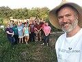 Daniel Oerther providing tour of Rolla Community Garden 2019.jpg