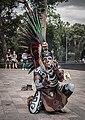 Danza del Fuego performance outside Museo Nacional de Antropología, Chapultepec, CDMX.jpg