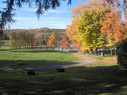 Autumn scenery in southwest Darlington Township near the borough of Darlington