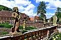 Das Kloster Bronnbach, mit seinem Abteigarten.jpg