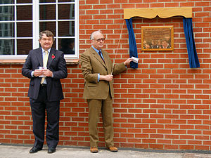 Dauntsey's School - Opening of the relocated Senior Day Boy houses in November 2005, hosted by ex-headmaster Stewart Roberts and ex-Governor J.P.G. Wathen Esq.