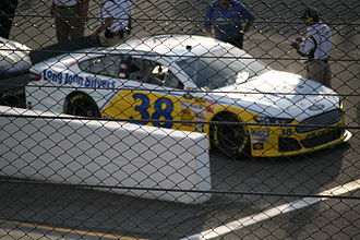 David Gilliland - Gilliland in his 2013 Long John Silvers car