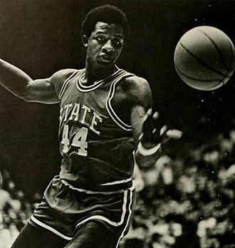 David Thompson (basketball) - Thompson in 1974 with NC State.
