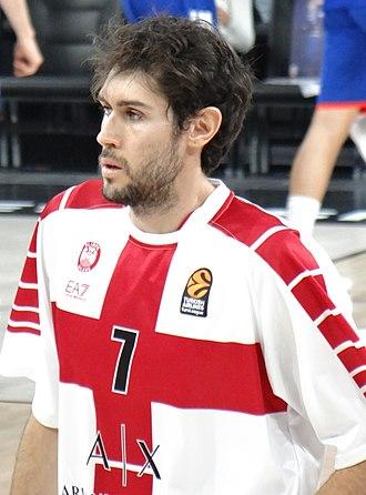 Davide Pascolo - Pascolo with Olimpia Milano in 2017