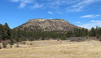 Dawson Butte - Image: Dawson Butte