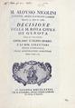 Decisione della M. Rota civile di Genova, 1786 - 187.tif