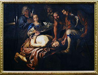 Decollazione del Battista (Matthias Stom)