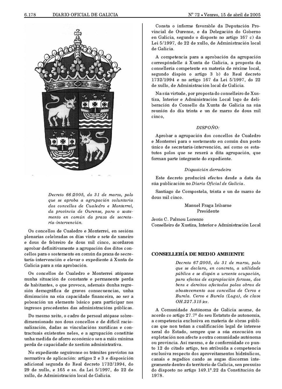 Decreto 65-2005, do 31 de marzo, polo que se aproba o escudo do Concello de Baiona (Pontevedra).pdf&page=2