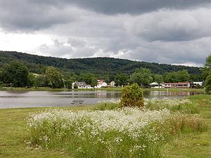Deer Lake, Pennsylvania - Deer Lake Pond, June 2015.