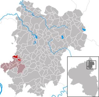 Deesen Place in Rhineland-Palatinate, Germany