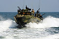 Defense.gov News Photo 110713-N-CD297-041 - Sailors assigned to Riverine Squadron 2 participate in pre-deployment exercises in a riverine command boat near Norfolk Va. on July 12 2011.jpg