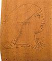 Dehodencq A. - Pencil - Profil féminin - 11x16m.jpg