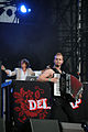 DelaDap feat Tania Saedi - Donauinselfest Vienna 2013 03.jpg