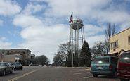 Delavan Wisconsin Water Tower and Vitrified Brick Street NRHP