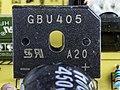 Dell E2210f - power supply unit - Taiwan Semiconductor GBU405-4703.jpg