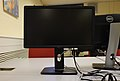 "Dell P2212Hb 21.5"" monitor at Universite Catholique de Louvain (batiment Reaumur, salle Bill Joy).jpg"