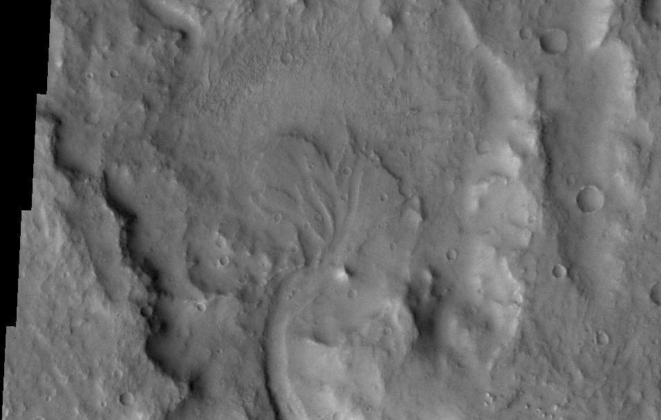 Delta in Margaritifer Sinus