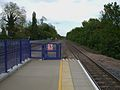 Denham station westbound platform look east3.JPG