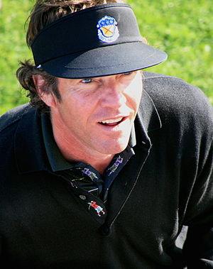 Dennis Quaid - Quaid golfing in 2006