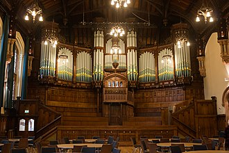 Guildhall, Derry - Pipe organ in the Main Hall