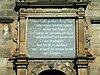 detail leiden stadhuis plaque