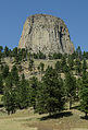 Devils Tower, Southeast view 20110821 1.jpg
