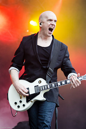 Devin Townsend - Devin Townsend performing in July 2012