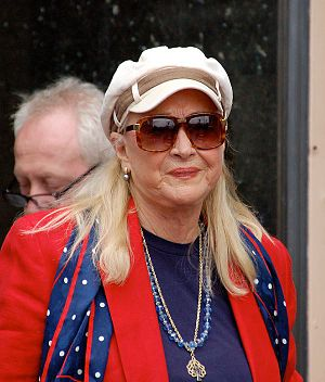 Diane Ladd - Diane Ladd in 2013 at the Hollywood Walk of Fame  to honour actress Olympia Dukakis