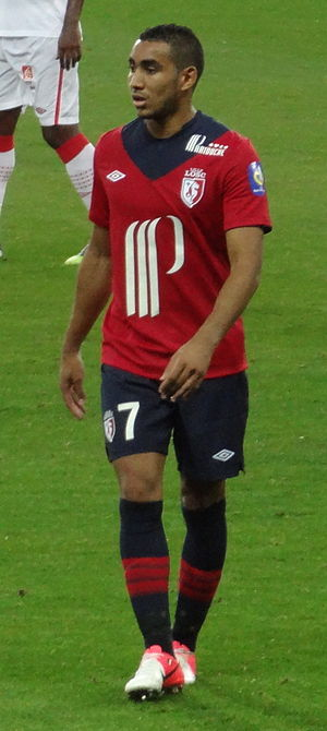 Dimitri Payet - Payet playing for Lille in August 2012