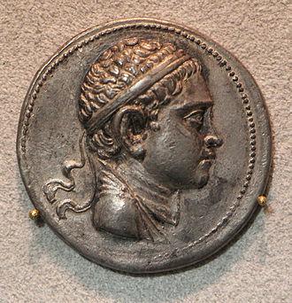 Euthydemus II - Portrait of young Euthydemus II.