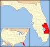 Diocezo de Palm Beach-mapo 1.png